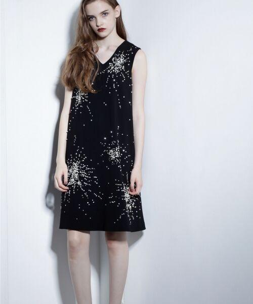 GRACE CONTINENTAL / グレースコンチネンタル ドレス | ビジューAラインワンピース | 詳細7