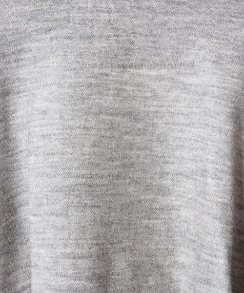 GRACE CONTINENTAL / グレースコンチネンタル ミニ丈・ひざ丈ワンピース | ベルト付ジャージワンピース | 詳細15
