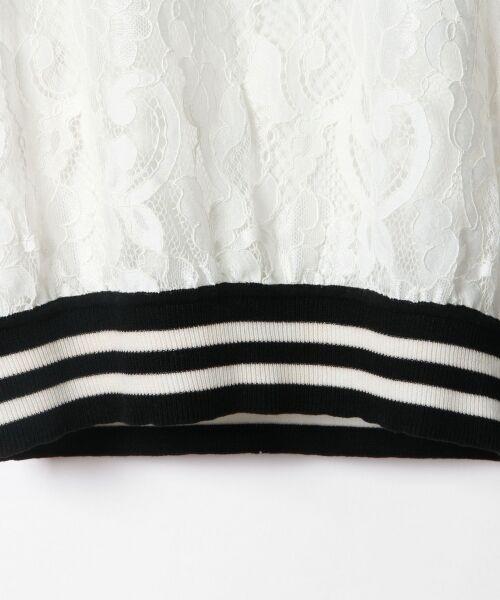 GRACE CONTINENTAL / グレースコンチネンタル Tシャツ | フラワーレースライントップ | 詳細5