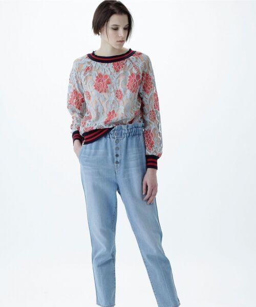 GRACE CONTINENTAL / グレースコンチネンタル Tシャツ | フラワーレースライントップ | 詳細8