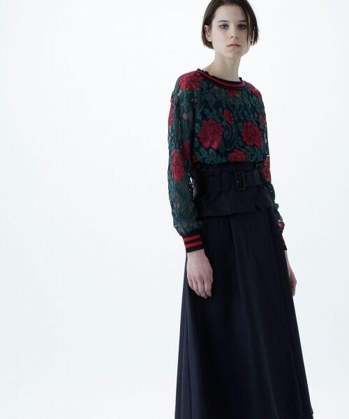 GRACE CONTINENTAL / グレースコンチネンタル Tシャツ | フラワーレースライントップ | 詳細9