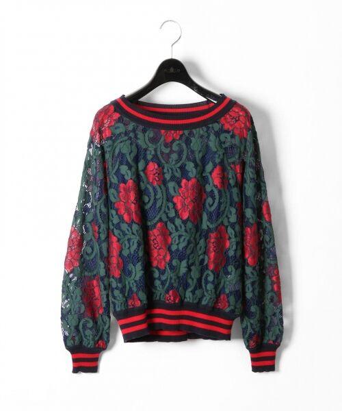 GRACE CONTINENTAL / グレースコンチネンタル Tシャツ | フラワーレースライントップ | 詳細11