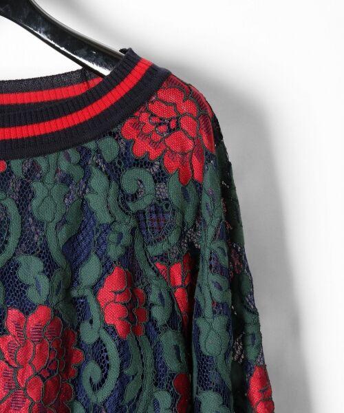 GRACE CONTINENTAL / グレースコンチネンタル Tシャツ   フラワーレースライントップ   詳細12