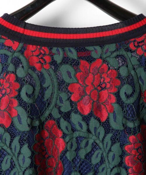 GRACE CONTINENTAL / グレースコンチネンタル Tシャツ | フラワーレースライントップ | 詳細14