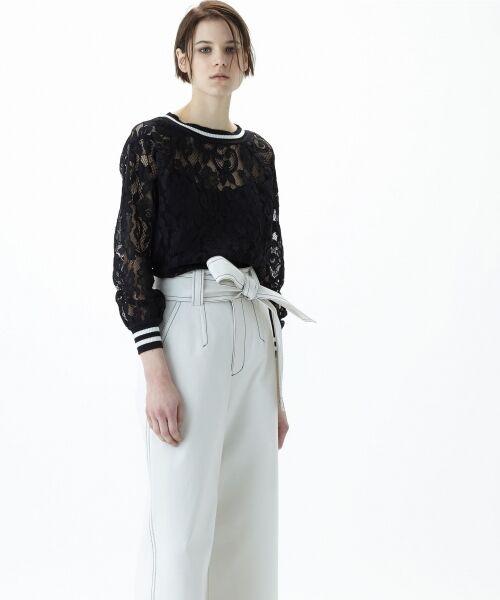 GRACE CONTINENTAL / グレースコンチネンタル Tシャツ | フラワーレースライントップ | 詳細17