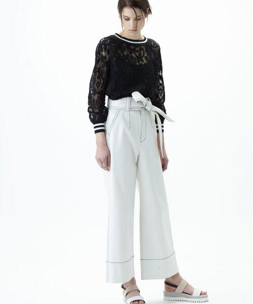 GRACE CONTINENTAL / グレースコンチネンタル Tシャツ | フラワーレースライントップ | 詳細18