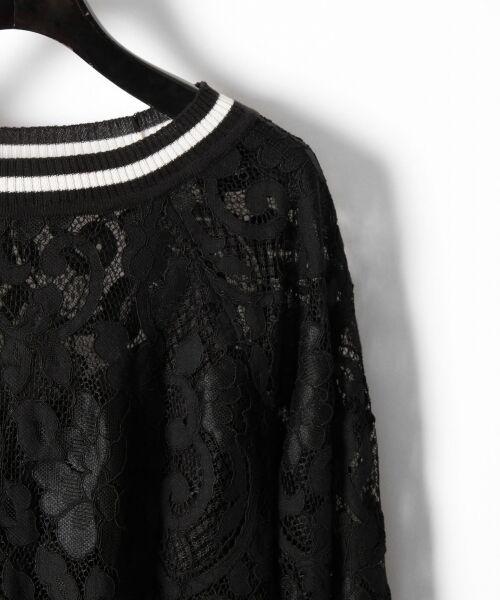 GRACE CONTINENTAL / グレースコンチネンタル Tシャツ   フラワーレースライントップ   詳細20