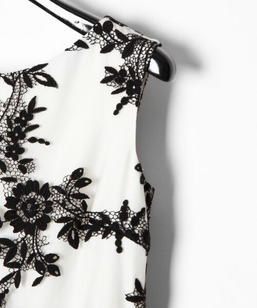 GRACE CONTINENTAL / グレースコンチネンタル ドレス | レースフラワー刺繍ワンピース | 詳細4