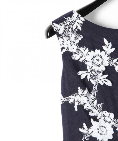 GRACE CONTINENTAL / グレースコンチネンタル ドレス | レースフラワー刺繍ワンピース | 詳細6