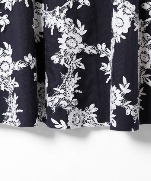 GRACE CONTINENTAL / グレースコンチネンタル ドレス | レースフラワー刺繍ワンピース | 詳細7