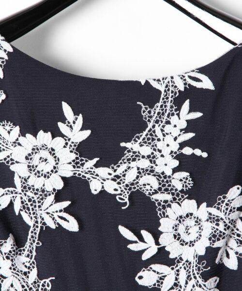 GRACE CONTINENTAL / グレースコンチネンタル ドレス | レースフラワー刺繍ワンピース | 詳細8