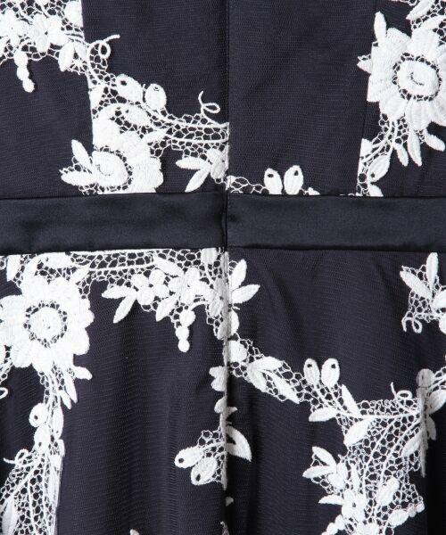 GRACE CONTINENTAL / グレースコンチネンタル ドレス | レースフラワー刺繍ワンピース | 詳細9