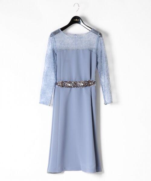 GRACE CONTINENTAL / グレースコンチネンタル ドレス | ビジューベルトワンピース | 詳細3