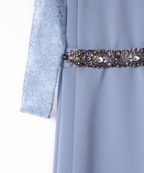 GRACE CONTINENTAL / グレースコンチネンタル ドレス | ビジューベルトワンピース | 詳細4