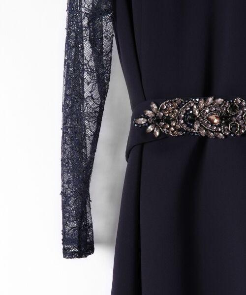 GRACE CONTINENTAL / グレースコンチネンタル ドレス | ビジューベルトワンピース | 詳細7