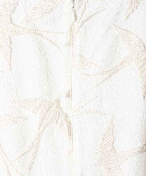GRACE CONTINENTAL / グレースコンチネンタル ドレス | バードチュールワンピース | 詳細4