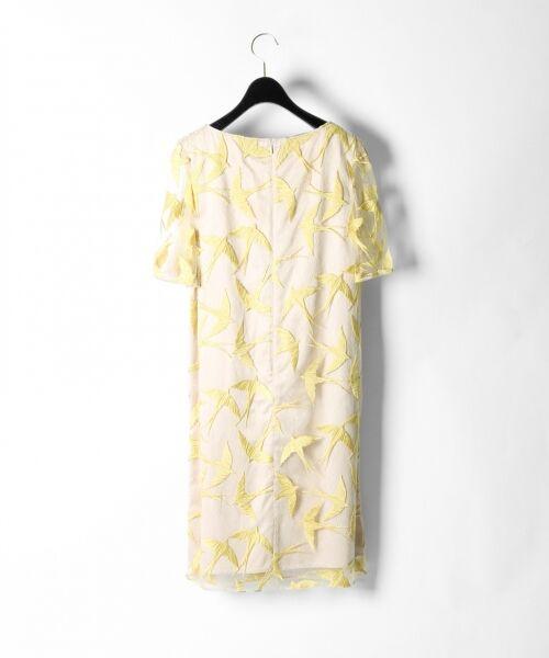 GRACE CONTINENTAL / グレースコンチネンタル ドレス | バードチュールワンピース | 詳細10