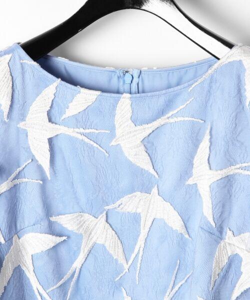 GRACE CONTINENTAL / グレースコンチネンタル ドレス | バードチュールワンピース | 詳細13