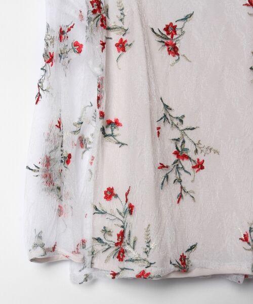 GRACE CONTINENTAL / グレースコンチネンタル Tシャツ | フラワーチュール刺繍トップ | 詳細3