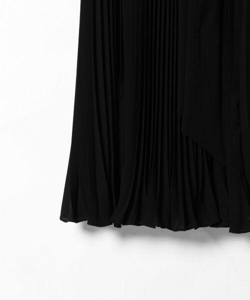 GRACE CONTINENTAL / グレースコンチネンタル ドレス | レース切替プリーツワンピース | 詳細5