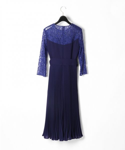 GRACE CONTINENTAL / グレースコンチネンタル ドレス | レース切替プリーツワンピース | 詳細11