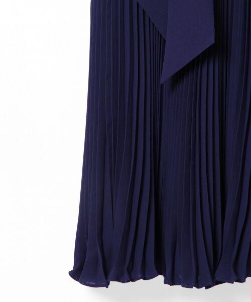 GRACE CONTINENTAL / グレースコンチネンタル ドレス | レース切替プリーツワンピース | 詳細9