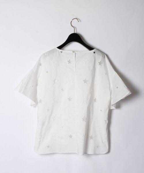 GRACE CONTINENTAL / グレースコンチネンタル Tシャツ | スターカットワークトップ | 詳細5