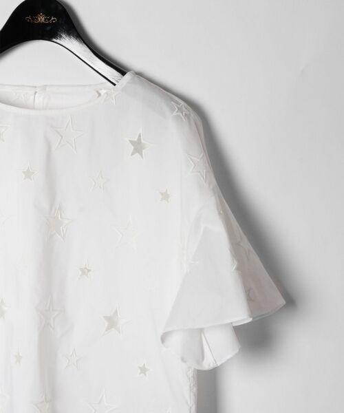 GRACE CONTINENTAL / グレースコンチネンタル Tシャツ | スターカットワークトップ | 詳細1