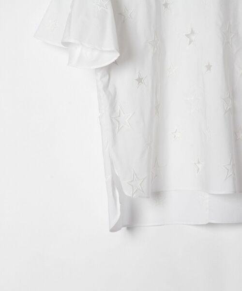 GRACE CONTINENTAL / グレースコンチネンタル Tシャツ | スターカットワークトップ | 詳細2