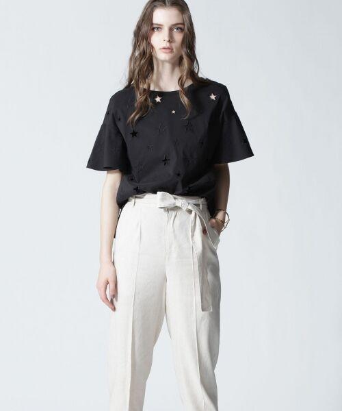 GRACE CONTINENTAL / グレースコンチネンタル Tシャツ | スターカットワークトップ | 詳細6