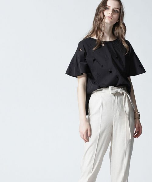 GRACE CONTINENTAL / グレースコンチネンタル Tシャツ | スターカットワークトップ | 詳細7