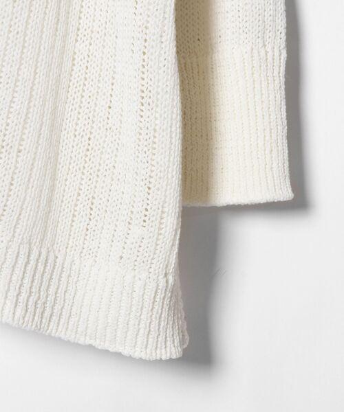 GRACE CONTINENTAL / グレースコンチネンタル ニット・セーター | メッシュニットトップ | 詳細2