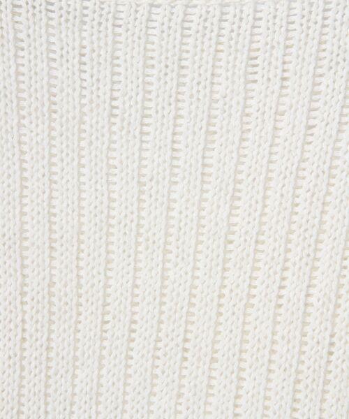 GRACE CONTINENTAL / グレースコンチネンタル ニット・セーター | メッシュニットトップ | 詳細3