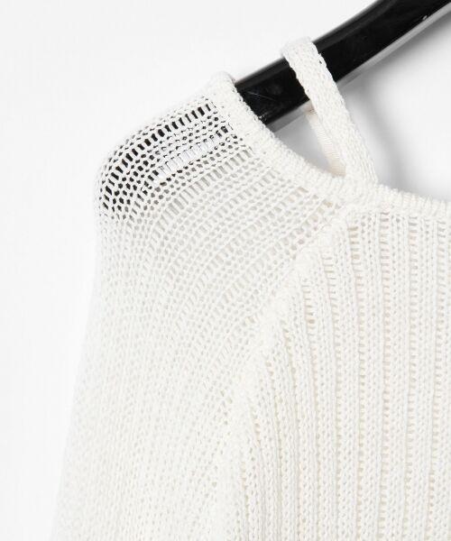 GRACE CONTINENTAL / グレースコンチネンタル ニット・セーター | メッシュニットトップ | 詳細4