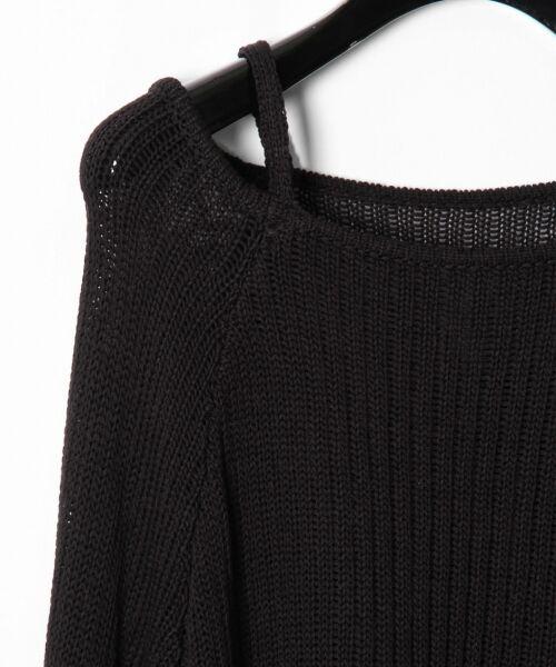 GRACE CONTINENTAL / グレースコンチネンタル ニット・セーター | メッシュニットトップ | 詳細9