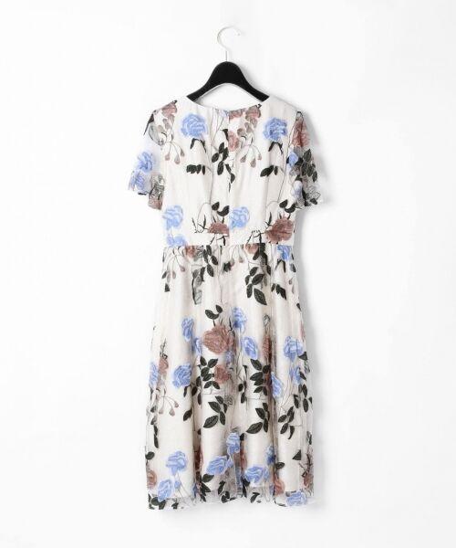 GRACE CONTINENTAL / グレースコンチネンタル ドレス   ローズ刺繍フレアワンピース   詳細5