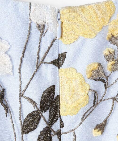 GRACE CONTINENTAL / グレースコンチネンタル ドレス   ローズ刺繍フレアワンピース   詳細11