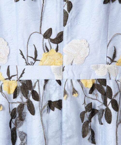 GRACE CONTINENTAL / グレースコンチネンタル ドレス   ローズ刺繍フレアワンピース   詳細12