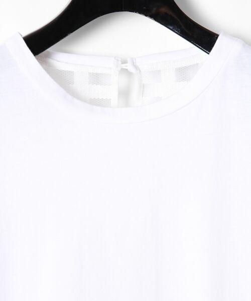 GRACE CONTINENTAL / グレースコンチネンタル Tシャツ | チェックレースコンビトップ | 詳細5