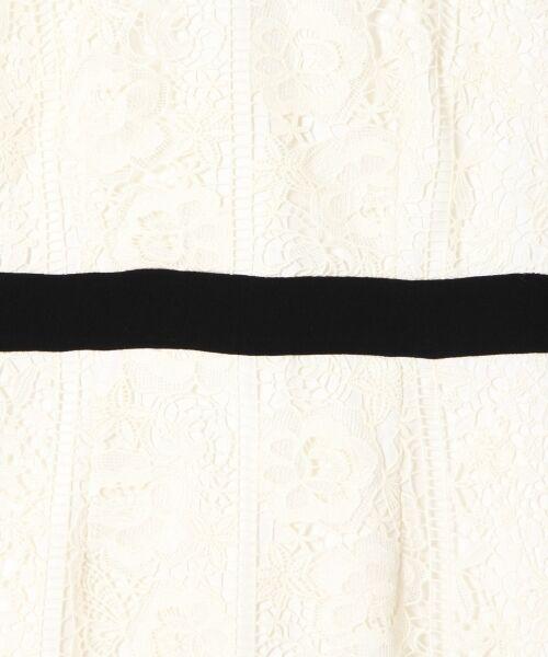 GRACE CONTINENTAL / グレースコンチネンタル ミニ丈・ひざ丈ワンピース | ケミカルフラワーレースワンピース | 詳細2