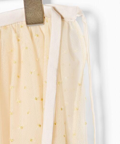 GRACE CONTINENTAL / グレースコンチネンタル ミニ・ひざ丈スカート | ドットチュールロングスカート | 詳細4