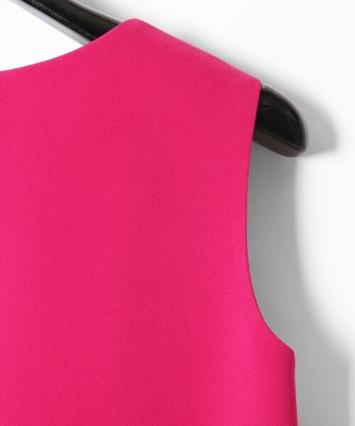GRACE CONTINENTAL / グレースコンチネンタル ドレス | ミンクポンポンドレス | 詳細13