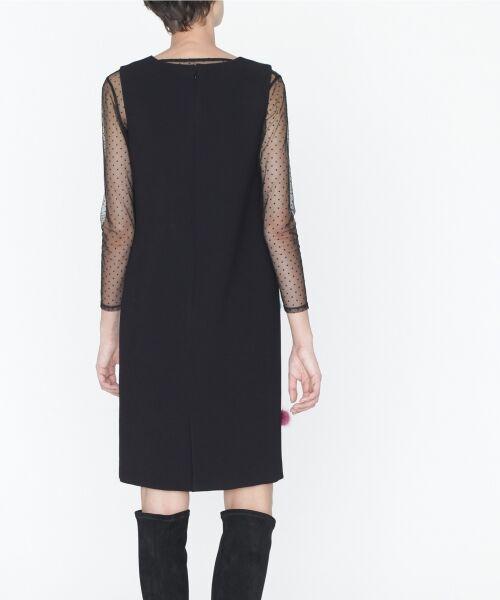 GRACE CONTINENTAL / グレースコンチネンタル ドレス | ミンクポンポンドレス | 詳細17