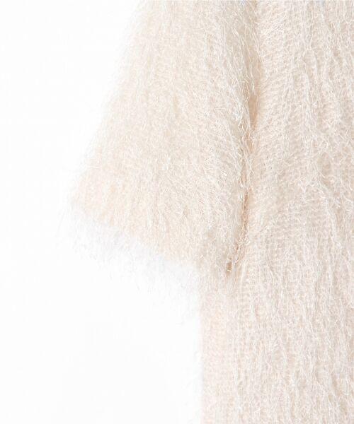 GRACE CONTINENTAL / グレースコンチネンタル Tシャツ   フリンジトップ   詳細2