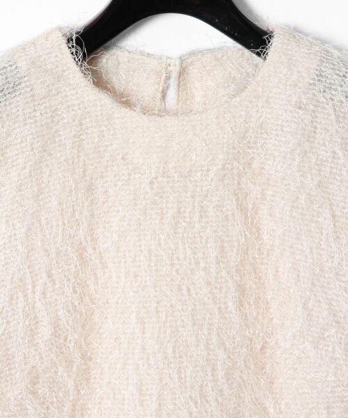 GRACE CONTINENTAL / グレースコンチネンタル Tシャツ   フリンジトップ   詳細3