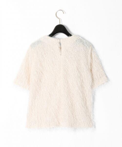 GRACE CONTINENTAL / グレースコンチネンタル Tシャツ   フリンジトップ   詳細5
