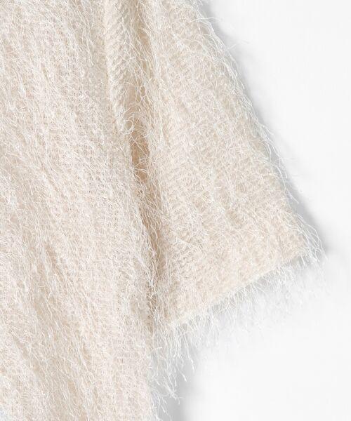 GRACE CONTINENTAL / グレースコンチネンタル Tシャツ   フリンジトップ   詳細7