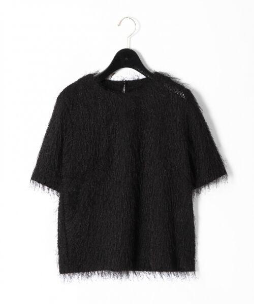 GRACE CONTINENTAL / グレースコンチネンタル Tシャツ   フリンジトップ   詳細17