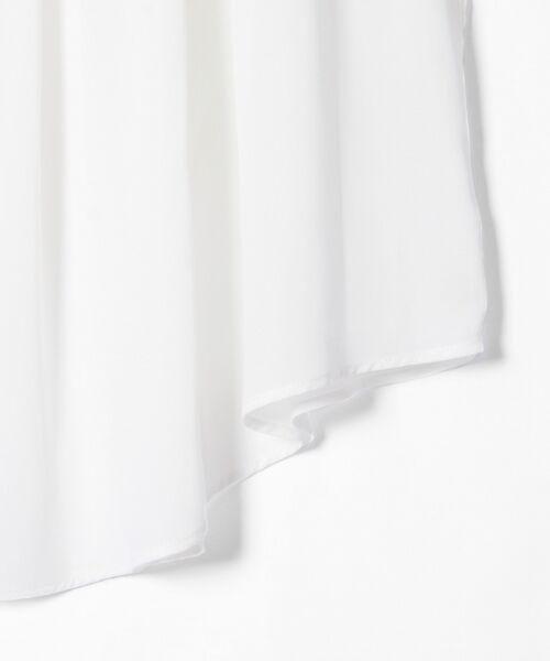 GRACE CONTINENTAL / グレースコンチネンタル トップス | シャーリングスタンド衿ノースリーブ | 詳細5