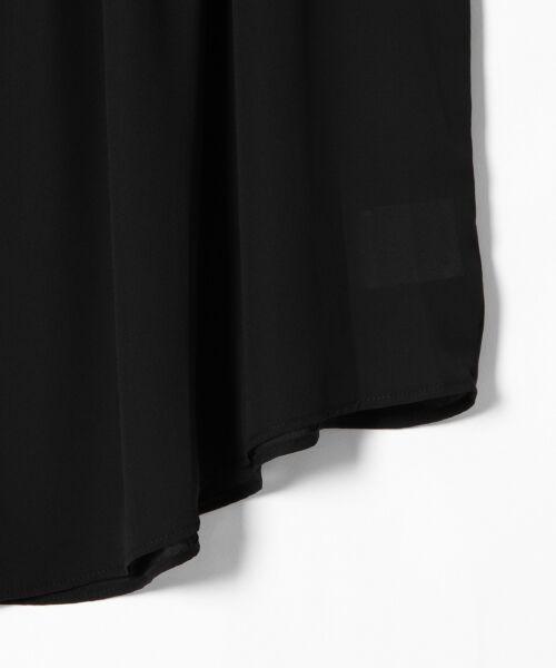 GRACE CONTINENTAL / グレースコンチネンタル トップス | シャーリングスタンド衿ノースリーブ | 詳細19